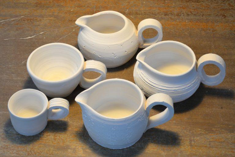 Emma Merrilees' jugs