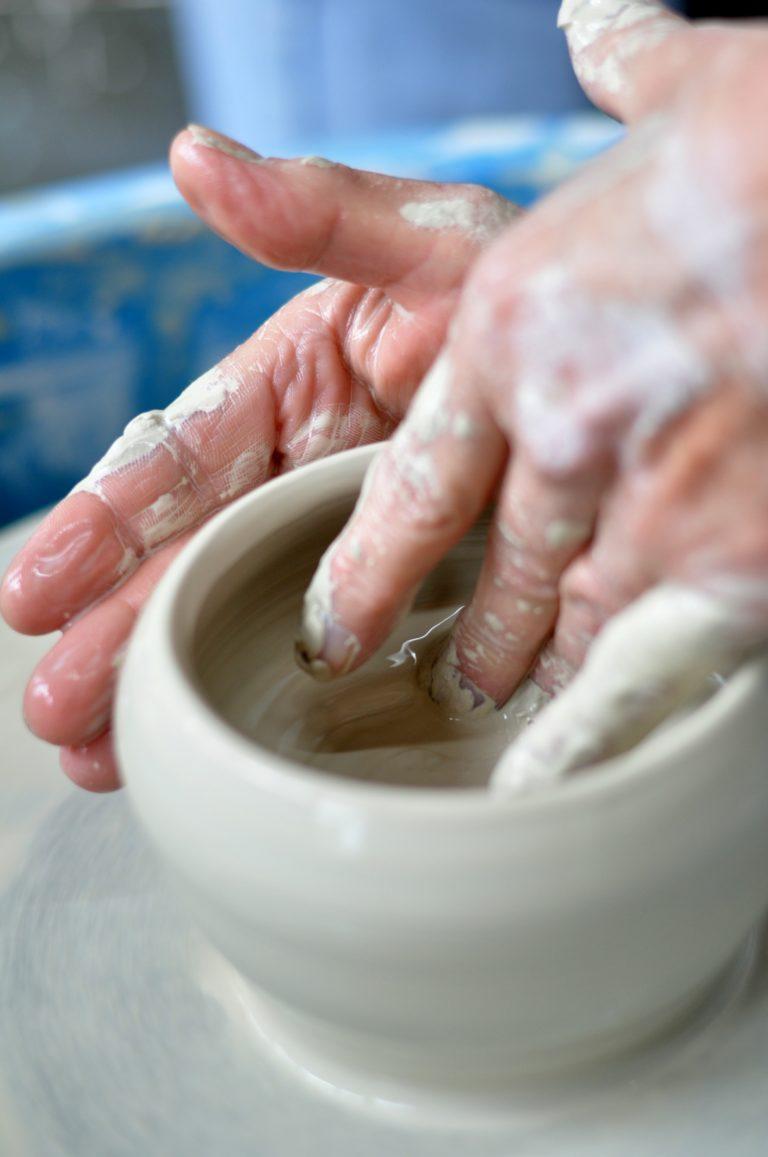Ashbrook Ceramics throwing